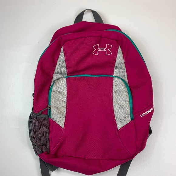 67038a0b29 under armour book bag backpack pink. M 5c890293409c15329c62e92f